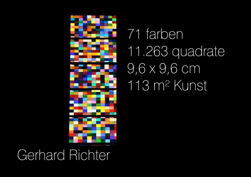 Die Inspiration: Gerhard Richters Quadrate im Kölner Dom
