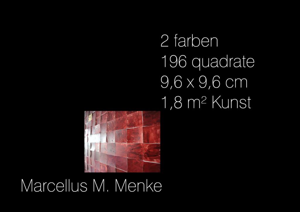 196 Quadrate für Gerhard Richter