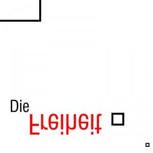 Ausschnitt Nr. 2 aus: Marcellus M. Menke: Digital Squares, Studie 001_b_v. Digital erzeugte Quadrate und Schrift. Vektorgrafik im PDF-Format. Köln 2013