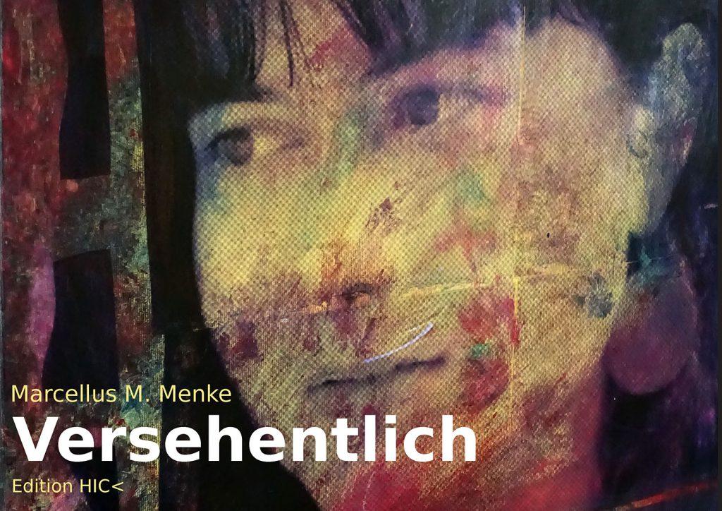 Marcellus M. Menke: Betrayed Generation. Rasterfolie und Acryl auf Leinwand, Photographie mit gesetztem Text. m4art screenBook, Köln und Siegen 2016, Seite 1