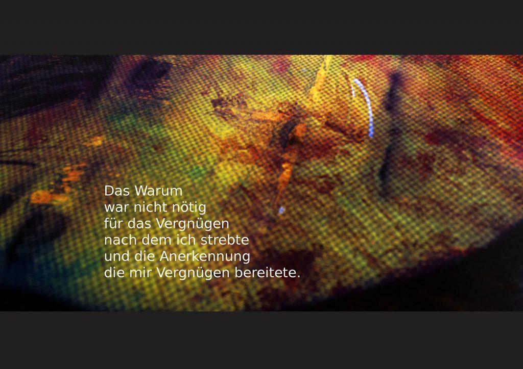 Marcellus M. Menke: Betrayed Generation. Rasterfolie und Acryl auf Leinwand, Photographie mit gesetztem Text. m4art screenBook, Köln und Siegen 2016, Seite 13
